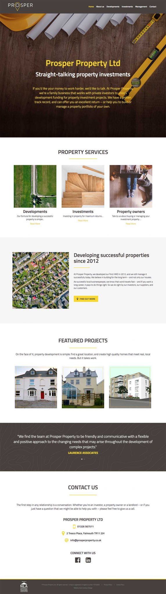 prosper-property-website-design