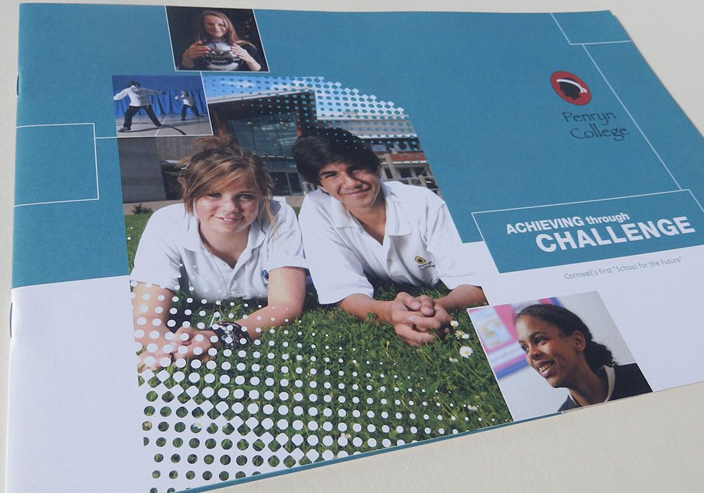 penryn-college-prospectus-design-cover
